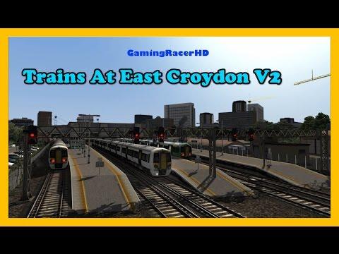 Train Simulator 2017 - Trains At East Croydon V2 (South London) [1080p 60FPS]