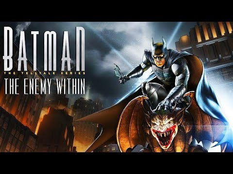 BATMAN: THE ENEMY WITHIN Full Season 2 (Telltale Series) All Cutscenes Movie 1080p 60FPS