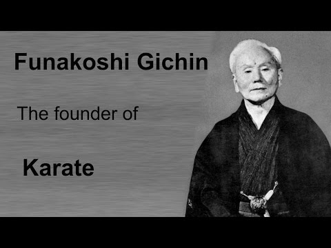 Old School 6: Gichin Funakoshi the founder of Karate