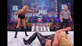 Trish Stratus vs Stacy Keibler  OMG Match