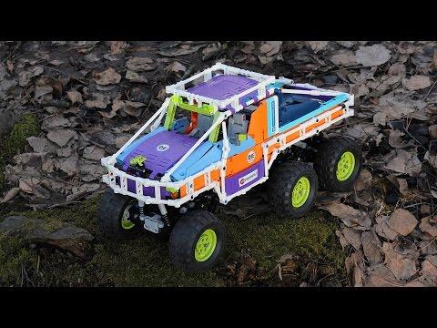 Lego Technic Off-Roader Dodge T-Rex 6x6 Friends Edition / Лего Техник Внедорожник Френдс