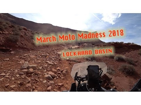 Lockhart Basin Round 2 on the Honda Africa Twin (Maverick)