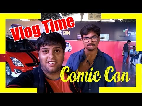 Comic Con '17 | Vlog Time | Feat. Sailesh Gopalan( Brown Paper Bag Comic)