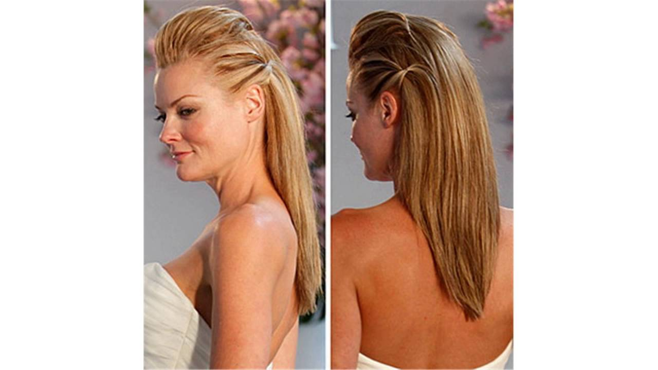 Nice Easy Hairstyles For Long Straight Hair