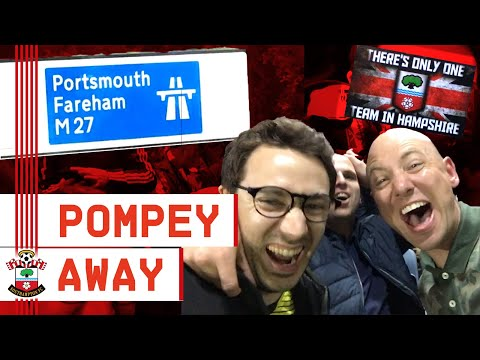 ON THE MARCH | Tom Deacon's Away Day Journey To Watch Southampton Thrash Portsmouth 4-0