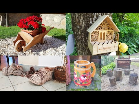 40 DIY Wood and Log Creative Design Ideas 2021 Part.4