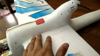 Fiberglass for RC foam planes.