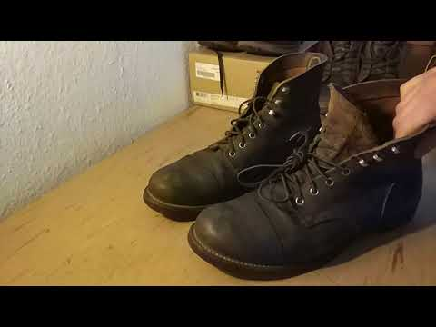Red Wing Iron Rangers 8113 Hawthorne Muleskinner 6 years Review
