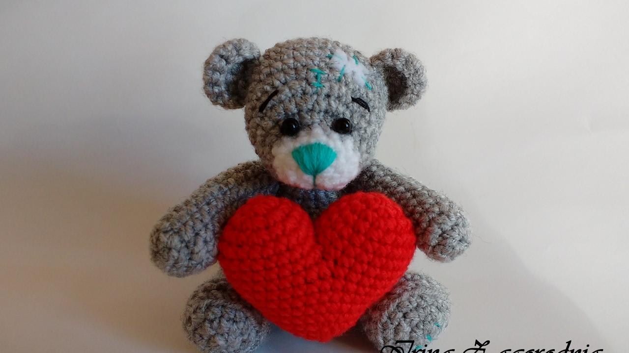 How To Tie Teddy Bear Crochet Amigurumi Master Klassmishka Teddy Bear Amigurumi