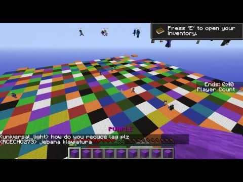 Minecraft Party игры #1 (Весёлые Мини игры)