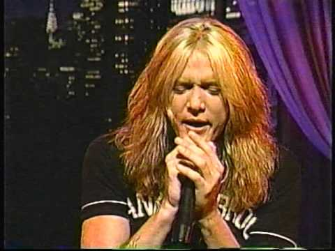 Sebastian Bach This is The Moment 2000 Live with Regis and Kathie Lee