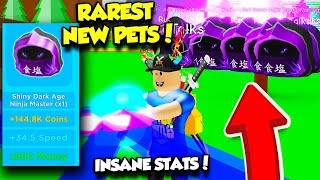 I GOT THE NEW RAREST NINJA PET IN MAGNET SIMULATOR UPDATE 16 AND IT'S INSANE! (Roblox)