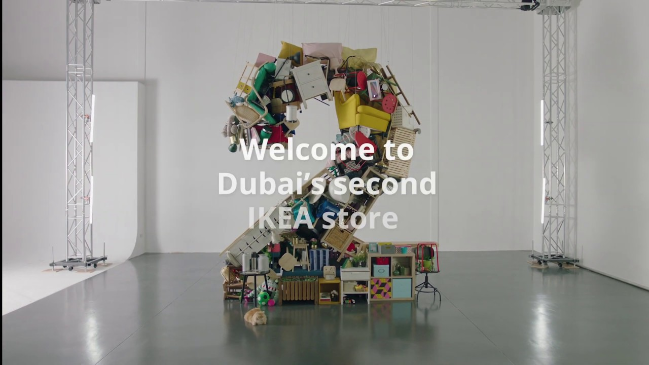 Welcome To Dubai S Second Ikea Store Youtube