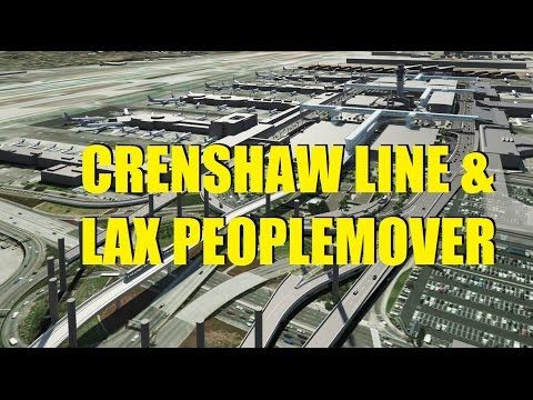 CGI Ride on the Crenshaw Line and LAX Peoplemover