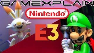 Nintendo E3 Booth Tour (Luigi's Mansion, Pokémon, & Link's Awakening Dioramas)