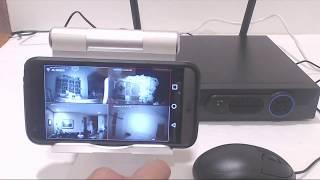 NVR Wifi Kits  kamera wifi nvr  4ch 1.3mp merk camview