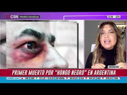 "PRIMERA MUERTE POR ""HONGO NEGRO"" EN ARGENTINA"