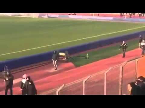 FC Lugano vs  Grasshopper Club Zürich Incident 2015 [Switzerland]
