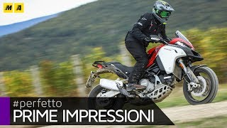 Ducati Multistrada Enduro 1260 2019 TEST ENGLISH SUB