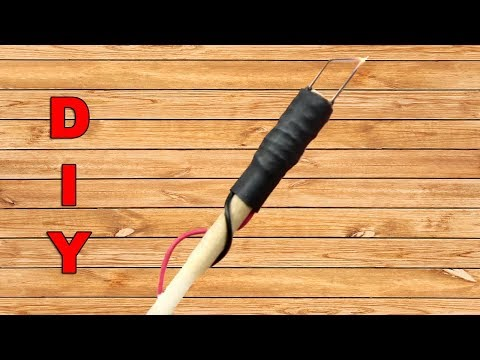 DIY - How to Make a Mini Pyrography Tool Homemade Yourself