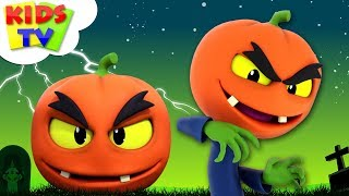 Scary Pumpkin Song | Halloween Nursery Rhymes For Kids | Cartoons by The Supremes | Kids Tv