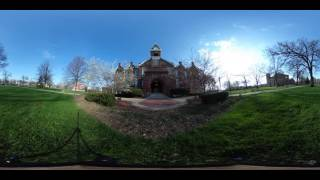 360-degree tour of Drake University