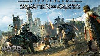 Mittelerde: Schatten des Krieges #029 - Festung einnehmen! - Let's Play Mittelerde Deutsch / German