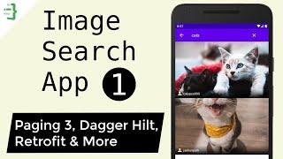 Project Setup - MVVM Image Search App with Architecture Components & Retrofit #1
