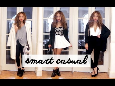 smart casual lookbook beautycrush youtube
