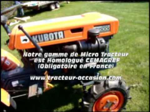 micro tracteur kubota b5000 chez tdo youtube. Black Bedroom Furniture Sets. Home Design Ideas