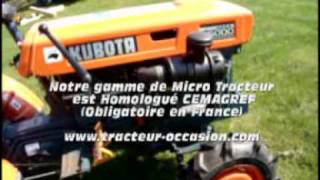 Micro Tracteur Kubota B5000 chez TDO, www.tracteur-occasion.com