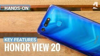 Honor View 20 key features and unboxing