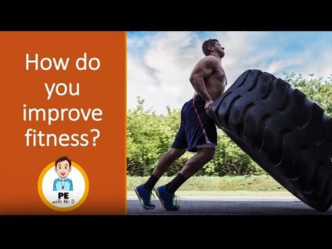 How to improve all 11 Fitness Components with Training Methods