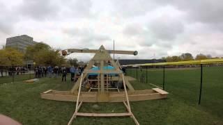 Illinois Tech Robotics: Mach 2 Centrifugal Pumpkin Launcher