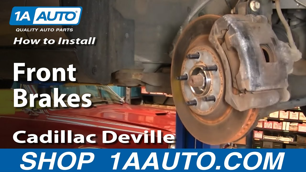 How To Install Replace Brakes on a Cadillac Deville 9699 1AAuto  YouTube