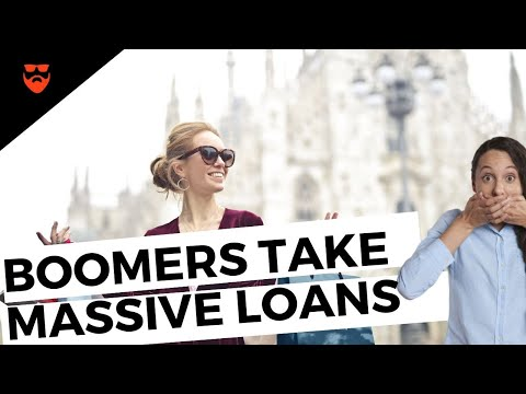 Why ARE Boomers Taking Out MASSIVE LOANS? | ANGRY GUY MINI PODCAST