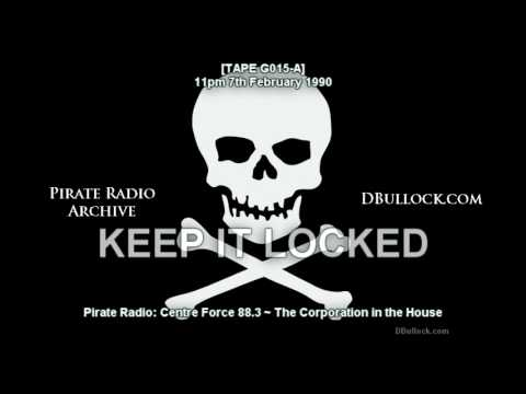 [G015A] Centre Force 88.3 ~ 07/02/1990 ~ East London Pirate Radio