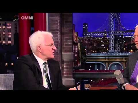 Steve Martin on Late Show With David Letterman May 01 2015 Full ...
