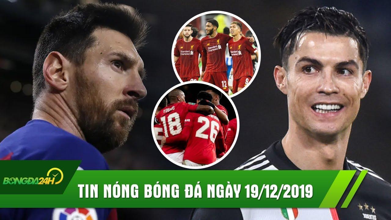 TIN NÓNG BÓNG ĐÁ 19/12 | El Clasico hòa không bàn thắng, Ronaldo đưa Juventus lên đỉnh