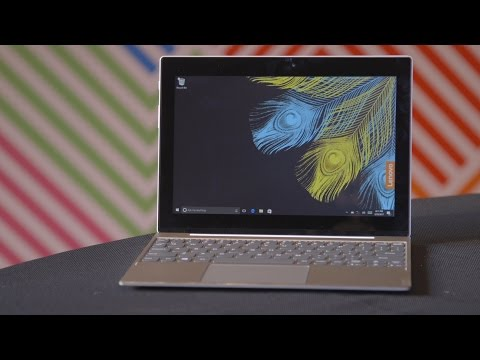 Lenovo's Miix 320 Laptop Is A Windows 2-in-1 At Chromebook Prices | MWC 2017