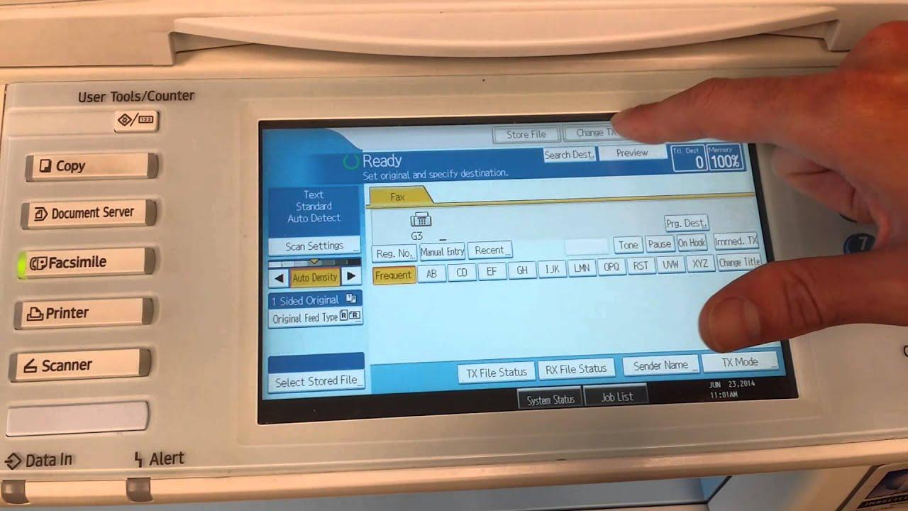 where to find a fax machine