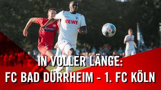 In VOLLER Länge: FC Bad Dürrheim - 1. FC Köln