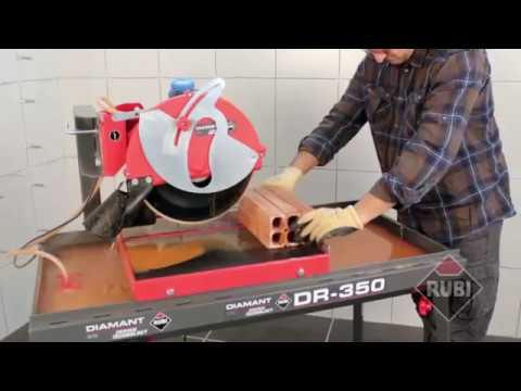Обзор Станок камнерезный RUBI DIAMANT DR-350