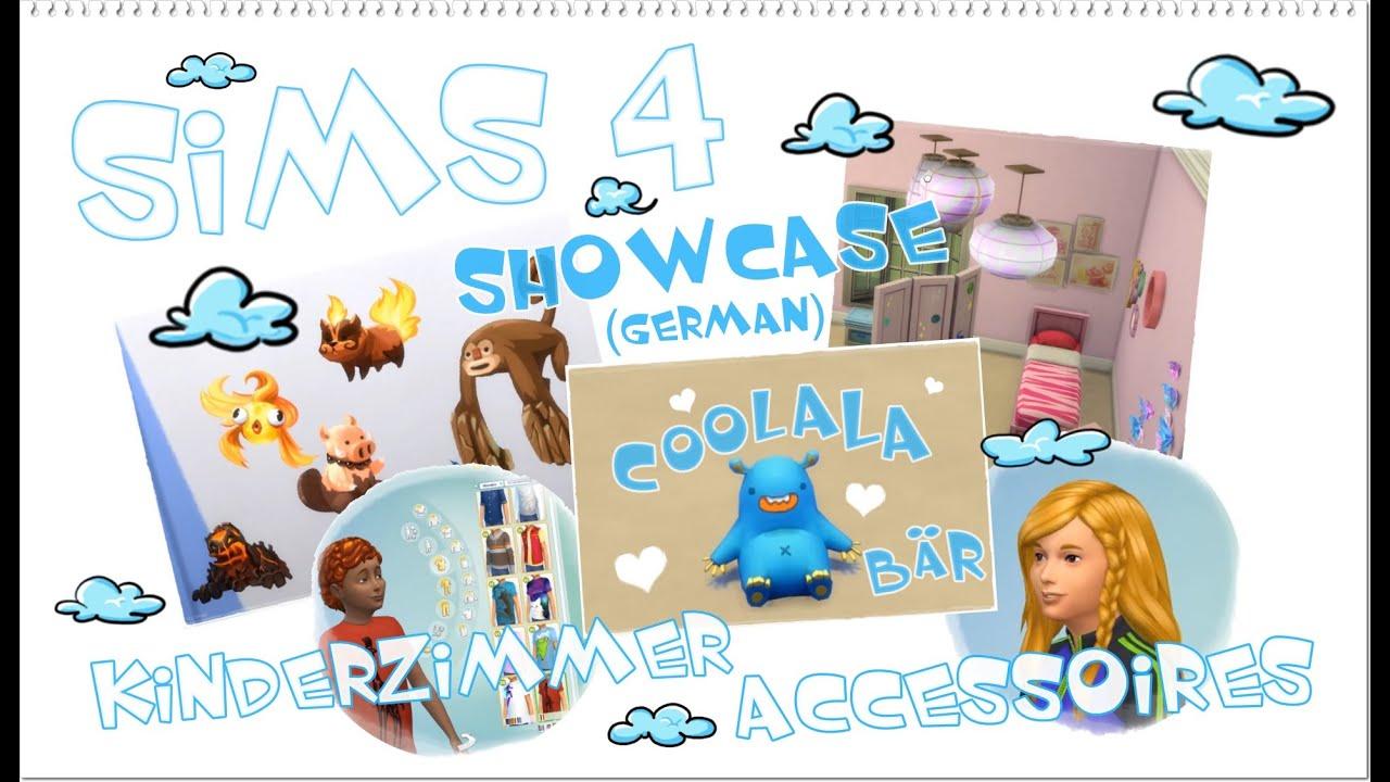 sims 4 kinderzimmer accessoires showcase (deutsch) - youtube