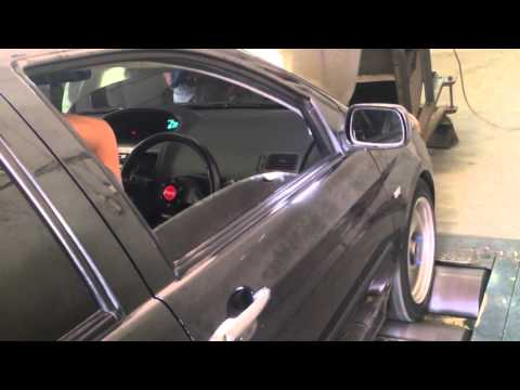 Toyota Vios dyno run 159 bhp