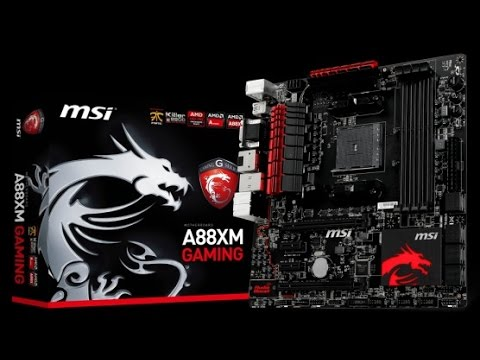 MSI A88XM Gaming Windows
