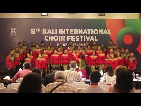 Evav Madrigal Singers - Warna Khatulistiwa ( Ken Steven ) BICF 2019 Mixed Choir Championship