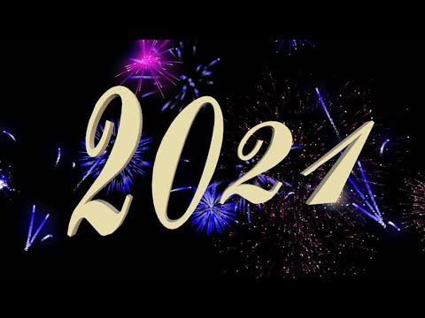 Музыкальная видео открытка на новый год 2021 из фото - YouTube