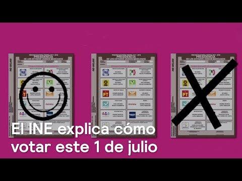 El INE explica cómo votar este 1 de julio - Noticias con Karla Iberia