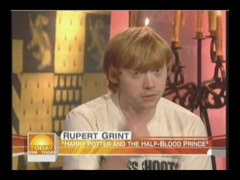 Rupert Grint On The Today Show (2009)